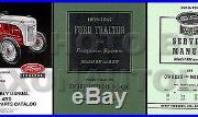 1939-1947 Ford 2N 9N 3 Manual SET Tractor Owners Guide Repair Shop Book Assembly