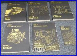 1973 Ford Pinto Coupe Hatchback Wagon Shop Service Repair Manual Set