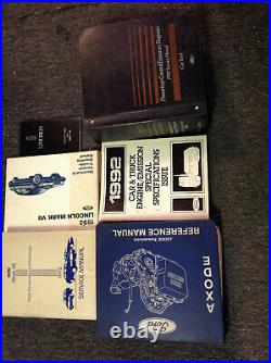 1992 LINCOLN MARK VII Service Repair Workshop Shop Manual Set W EVTM PCED Owners