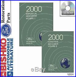 2000 Ford Expedition & Lincoln Navigator Shop Service Repair Manual CD Engine