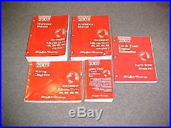 2003 Ford F 250 350 450 550 Excursion Truck Service Shop Repair Manual 03 Wiring