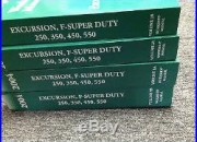 2004 FORD TRUCK Excursion F-250 350 450 550 Service Shop Repair Manual Set NEW