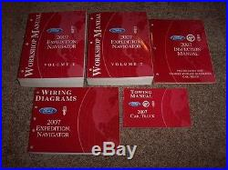 2007 Ford Expedition Shop Service Repair Manual XLT Eddie Bauer Limited 5.4L V8