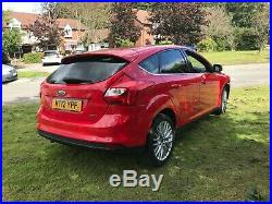2012 Ford Focus 1.0 Ecoboost Light Damaged Salvage Spares Or Repair Low Miles