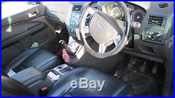 Black Ford Focus C Max 2004 Leather Heated Seats 6 Disc CD Player Spares/repair