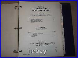 FORD NEW HOLLAND 1910 2110 TRACTOR SERVICE SHOP REPAIR MANUAL BOOK With SUPPLEMENT