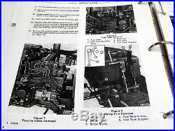 Ford 1120, 1220 Tractor Factory Service Manual Repair Shop Book NEW with Binder