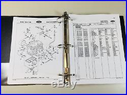 Ford 1300 1500 1700 1900 Tractor Service Service Repair Manual Parts Catalog