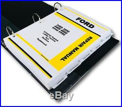 Ford 3400 3500 4400 4500 5500 5550 Backhoe Loader Tractor Service Repair Manual