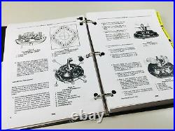 Ford 555 550 Tractor Loader Backhoe Service Parts Manual Repair Overhaul