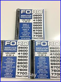 Ford 7600 Tractor Service Manual Repair Manual Shop Manual 1268 PAGES