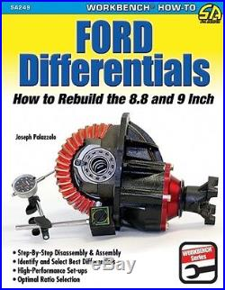 Ford Differentials How to Rebuild 8.8 9 INCH CURRIE MOSER WORKSHOP REPAIR MANUAL