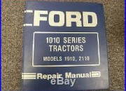 Ford Models 1910 & 2110 Compact Utility Tractor Shop Service Repair Manual Book