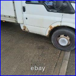Ford Transit Luton 90 2005 Tail Lift Spares or Repair Long Chassis