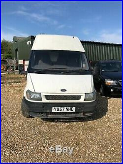 Ford Transit Lwb High Roof Spares Or Repairs