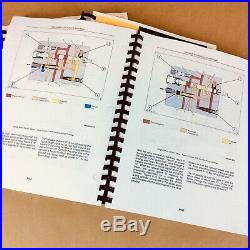 Service Repair Shop Manual for Ford New Holland 345D 445D 545D Tractor Loader