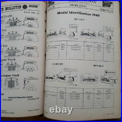 Vintage Collectable Ford Motor Co Master Repair Manual c1930s Leather Bound